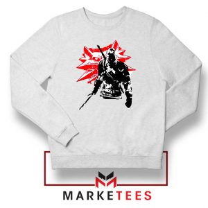Geralt of Rivia Witcher 3 Sweatshirt