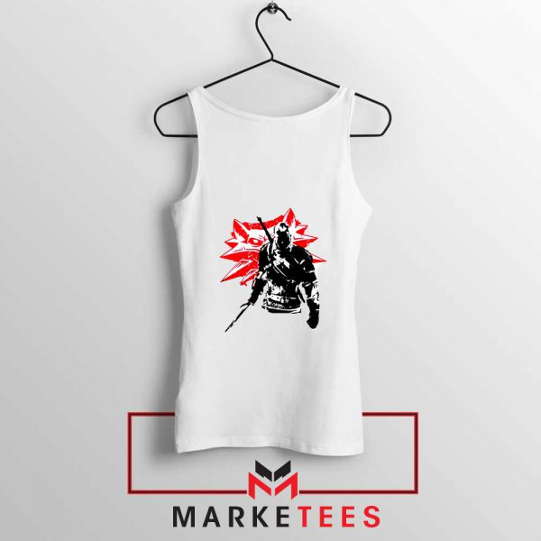 Geralt of Rivia Witcher 3 Tank Top