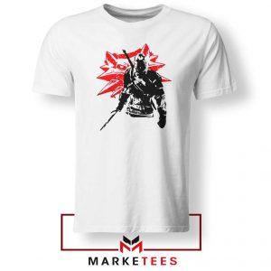 Geralt of Rivia Witcher 3 White Tshirt
