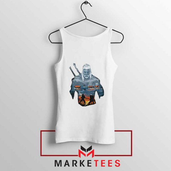 Geralt of Rivia and Eredin Tank Top