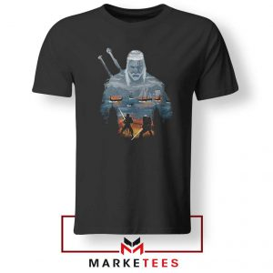 Geralt of Rivia and Eredin Tshirt