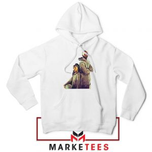 Gianna Bryant and Kobe Bryant White Hoodie