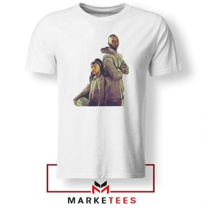 Gianna Bryant and Kobe Bryant White Tshirt