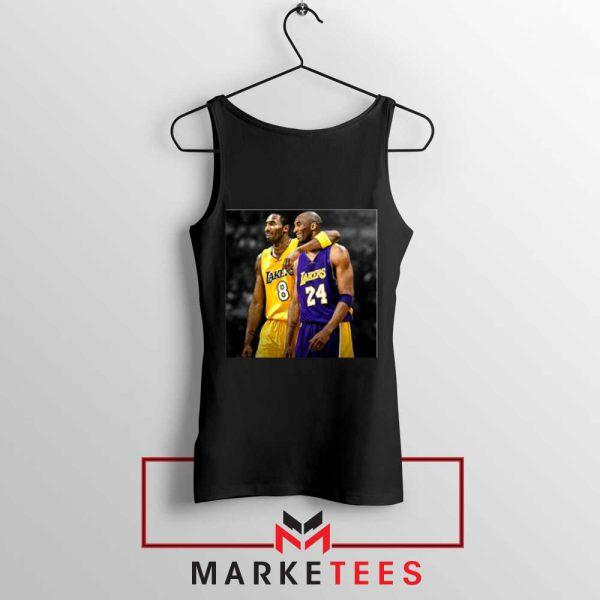 Honor Kobe Bryant Black Tank Top