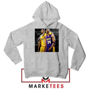 Honor Kobe Bryant Grey Hoodie