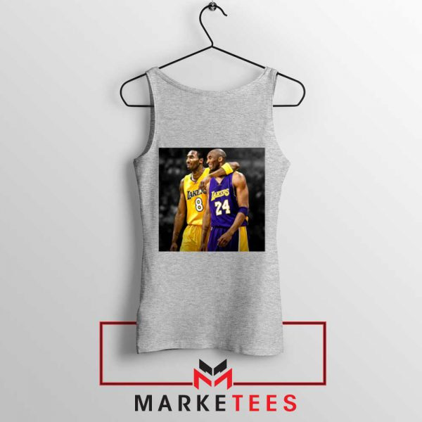 Honor Kobe Bryant Grey Tank Top