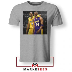 Honor Kobe Bryant Grey Tshirt