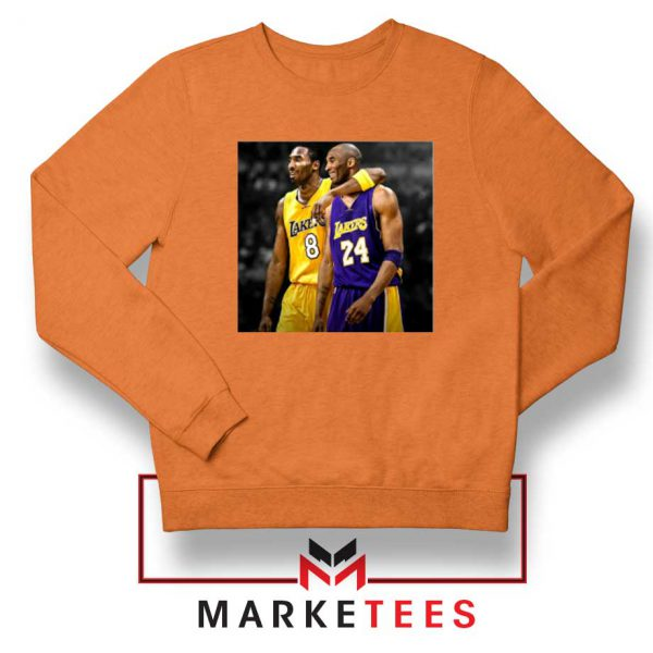 Honor Kobe Bryant Orange Sweater