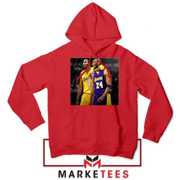 Honor Kobe Bryant Red Hoodie