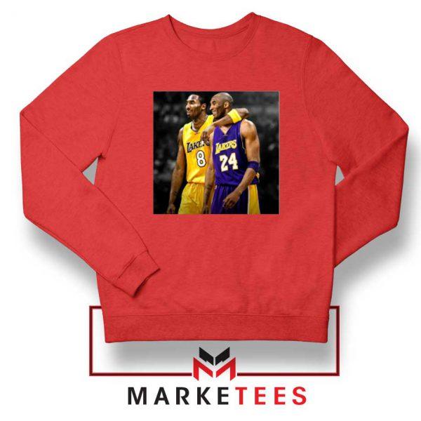 Honor Kobe Bryant Red Sweater