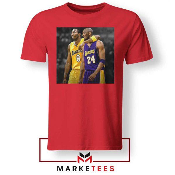 Honor Kobe Bryant Red Tshirt