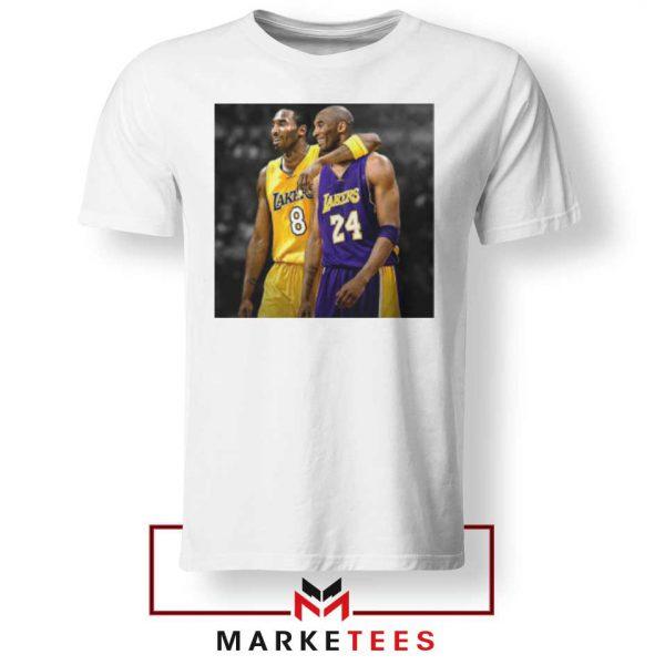 Honor Kobe Bryant White Tshirt