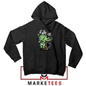 Its So Tiny The Child Black Hoodie