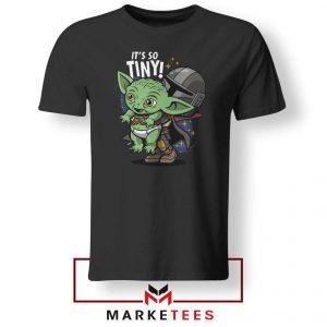 Its So Tiny The Child Black Tee Shirt