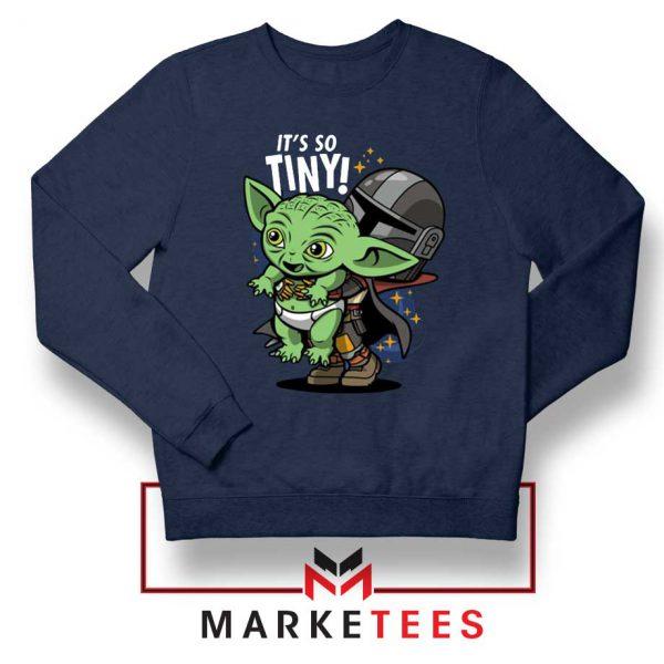 Its So Tiny The Child Navy Sweater