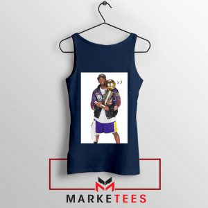 Kobe Bryant 5 Trophies NBA Tank Top