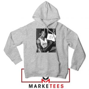 Kobe Bryant 81 Point Game Sport Grey Hoodie