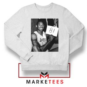 Kobe Bryant 81 Point Game Sweatshirt
