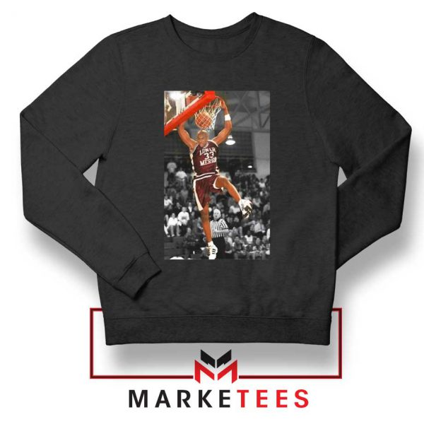 Kobe Bryant Basketball Superstar Black Sweatshirt