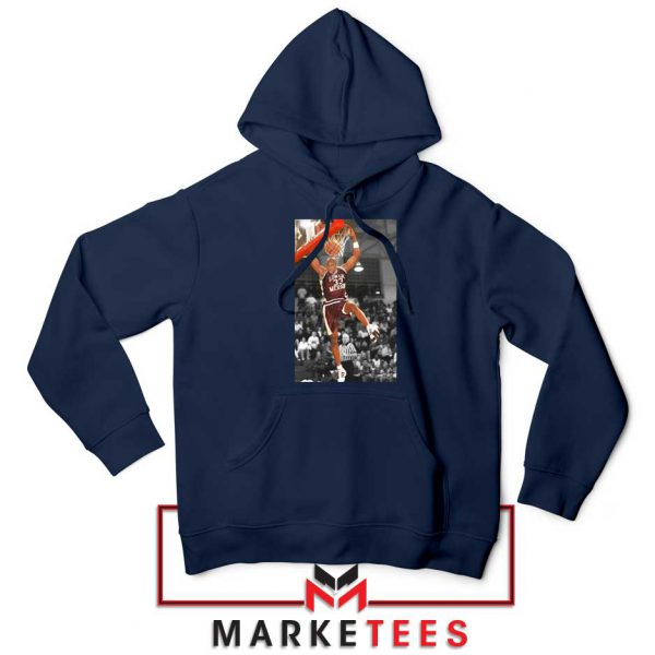 Kobe Bryant Basketball Superstar Navy Hoodie