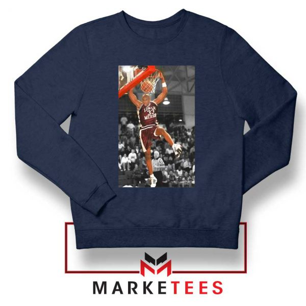 Kobe Bryant Basketball Superstar Navy Sweatshirt