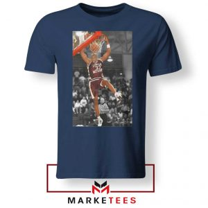 Kobe Bryant Basketball Superstar Navy Tshirt