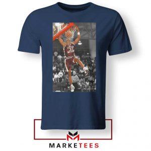 Kobe Bryant Basketball Superstar Navy Tshirt