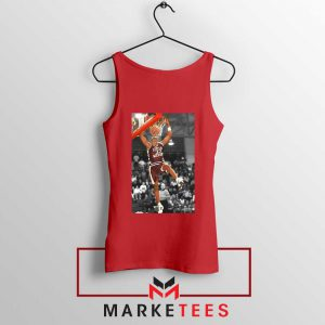 Kobe Bryant Basketball Superstar Red Tank Top
