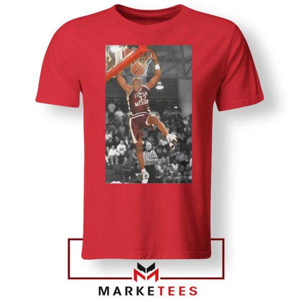 Kobe Bryant Basketball Superstar Red Tshirt
