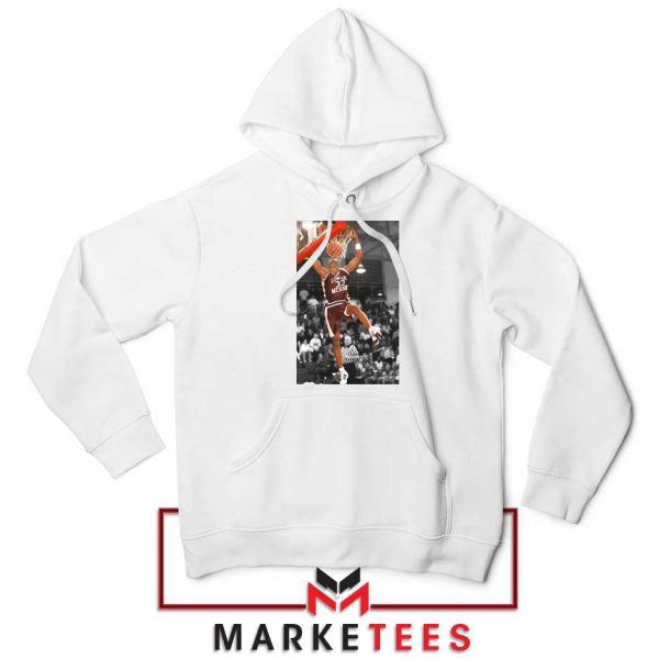 Kobe Bryant Basketball Superstar White Hoodie