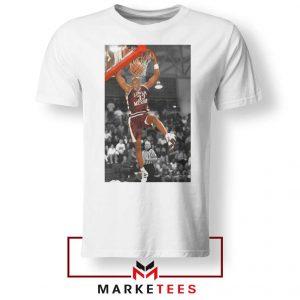 Kobe Bryant Basketball Superstar White Tshirt