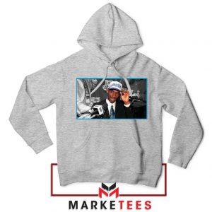Kobe Bryant Influence Grey Hoodie
