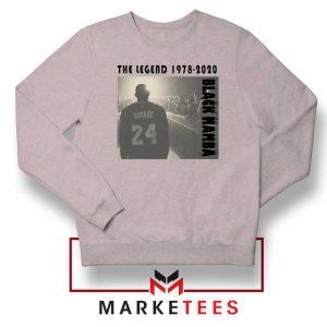 Kobe Bryant Legend LA Lakers Grey Sweater