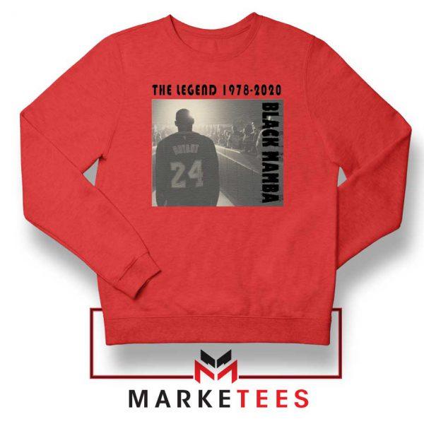 Kobe Bryant Legend LA Lakers Red Sweater