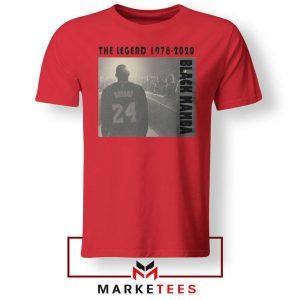 Kobe Bryant Legend LA Lakers Red Tshirt