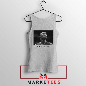 Kobe Bryant NBA Career Grey Tank Top