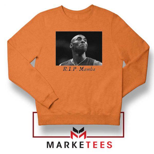 Kobe Bryant NBA Career Orange Sweatshirt