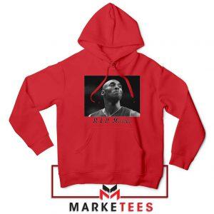 Kobe Bryant NBA Career Red Hoodie