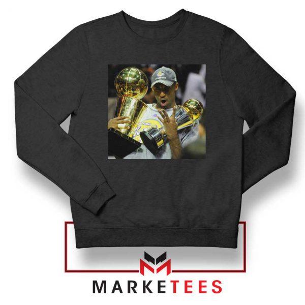 Kobe Bryant Participation Trophies Black Sweater