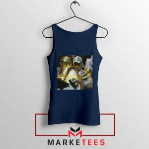 Kobe Bryant Participation Trophies Navy Tank Top