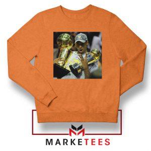 Kobe Bryant Participation Trophies Orange Sweater