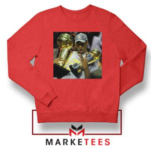 Kobe Bryant Participation Trophies Red Sweater