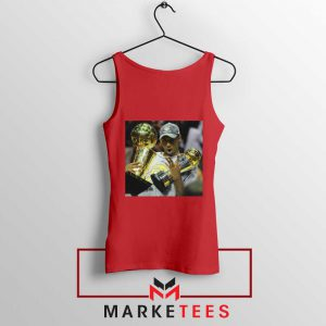 Kobe Bryant Participation Trophies Red Tank Top