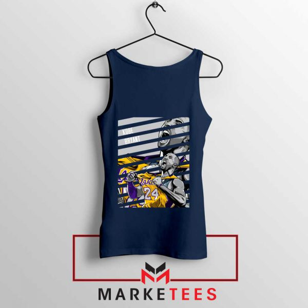 Kobe Bryant Talent Navy Tank Top