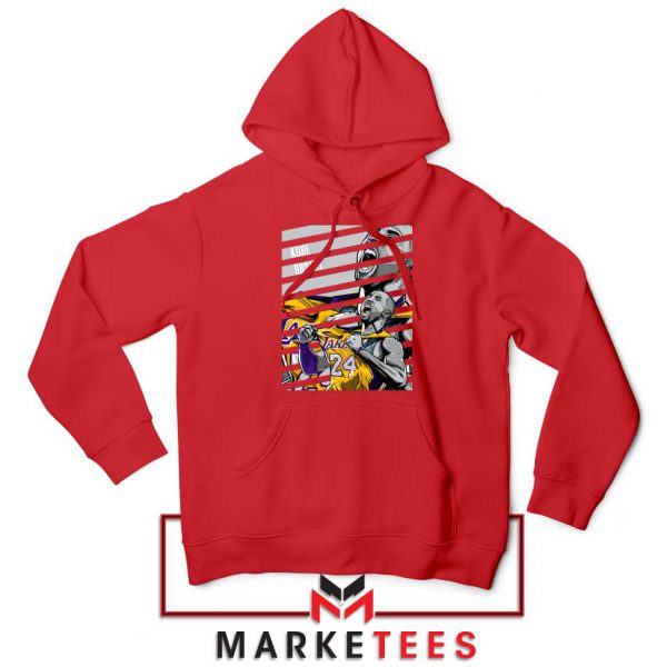 Kobe Bryant Talent Red Hoodie