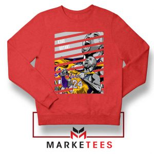 Kobe Bryant Talent Red Sweatshirt