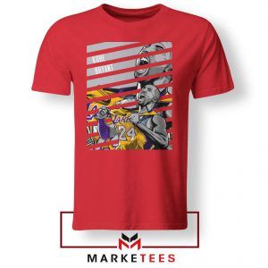 Kobe Bryant Talent Red Tee Shirt