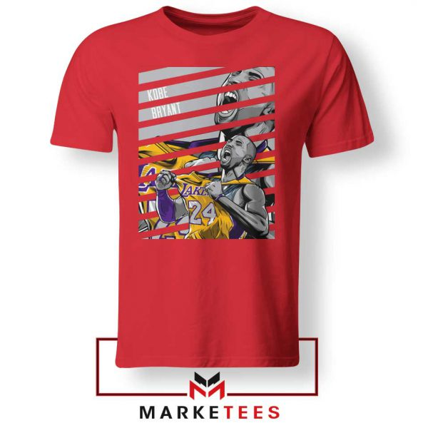 Kobe Bryant Talent Red Tee Shirt