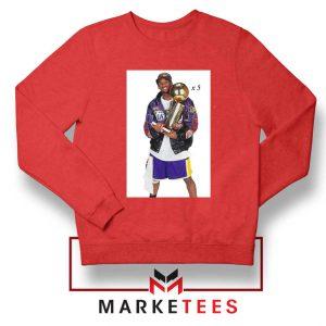 Kobe Trophies NBA Championship Sweatshirt