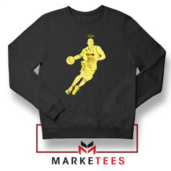LA Lakers Star Kobe Bryant Black Sweater